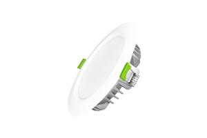 Âm trần Kingeco 9W đổi 3 màu ánh sáng, lỗ khoét 90mm, sử dụng chip Led Samsung, bảo hành 2 năm đổi mới