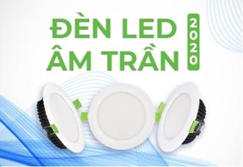 Cách lựa chọn và bố trí đèn led âm trần cho phòng khách đẹp