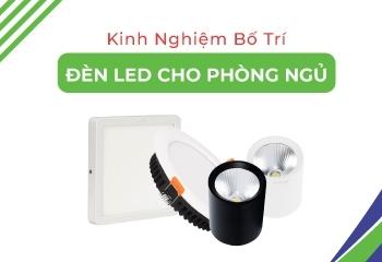 Nguyên tắc bố trí và các mẫu đèn led phòng ngủ hiện đại ấm áp