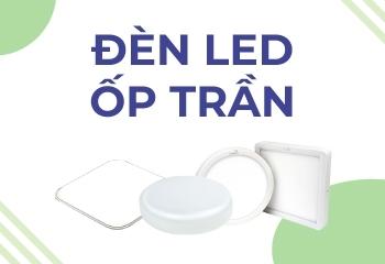 Đèn led ốp trần là gì? Ứng dụng của đèn led ốp trần