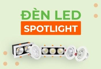 Đèn spotlight là gì? Các loại đèn spotlight được ưu chuộng