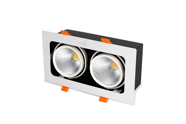ĐÈN LED SPOTLIGHT ĐÔI 20W (GL -2*10-V227)