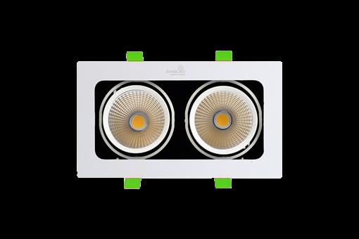ĐÈN LED SPOTLIGHT ĐÔI 20W (GL -2*10-V)