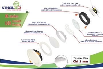 Bên trong đèn led downlight có gì - Cách chọn đèn âm trần tốt