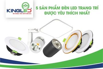 5 sản phẩm đèn led trang trí được yêu thích nhất