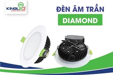 """Đèn Led Âm Trần Diamond - Dòng sản phẩm """"Kim cương"""" năm 2020"""