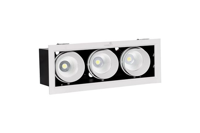 ĐÈN LED SPOTLIGHT HỘP 30W (GL-3*10-V334)