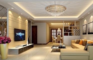 Tư vấn các mẫu đèn trần phòng khách chung cư